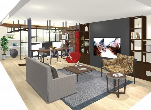 【パナソニックセンター大阪】ペットと快適に暮らす住空間展示をリニューアル~こだわりのインテリアデザインと機能性を両立