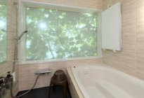 浴室空間の演出写真
