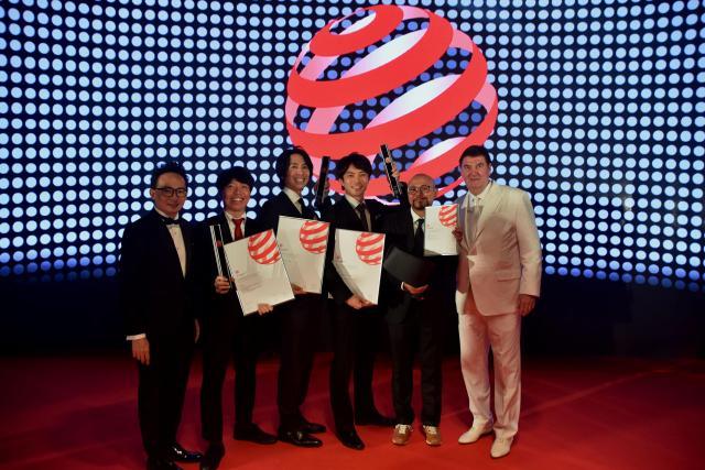 国際的なデザイン賞「レッド・ドット・デザイン賞」のデザインコンセプト部門で「ベスト・オブ・ザ・ベスト賞」を3点受賞