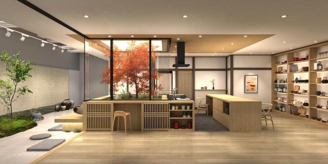 【パナソニックセンター大阪】住空間展示をリニューアル~料理研究家の大原千鶴さんが描く「旬にあふれる、ぜいたくな時間をわが家で」