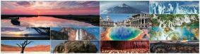 「ユネスコ世界遺産カレンダー」2018年版 月毎のイメージ