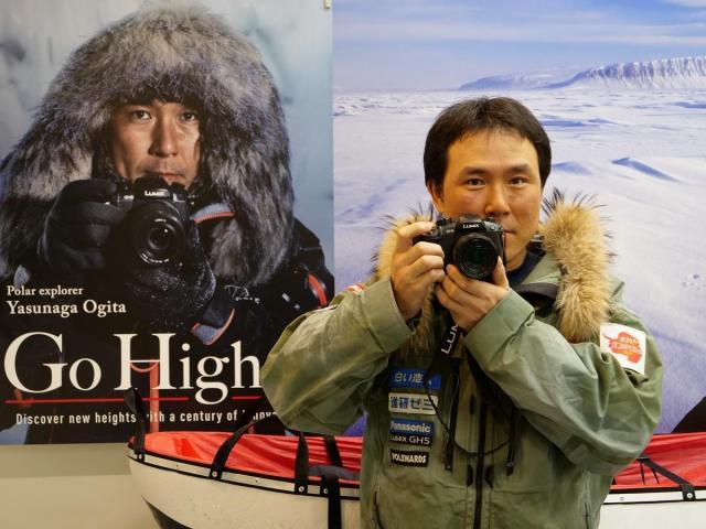 パナソニック LUMIX GH5が、日本人初「南極点無補給単独徒歩到達」の北極冒険家・荻田泰永氏をサポート~極寒での過酷な記録撮影に貢献~