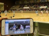 パナソニックの「マルチ動画配信システム」によるブラインドサッカー視聴の様子