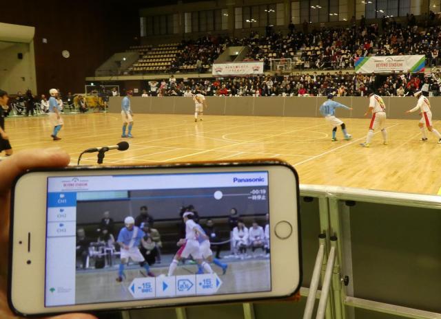 東京都主催の「BEYOND STADIUM」でパナソニックがスポーツ観戦ソリューションの有用性を検証