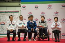 小池都知事も出席したTEAM BEYONDメンバー100万人達成の記念セレモニー(写真提供:東京都)