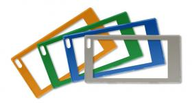 G2シリーズのベゼルの色は、店舗や商品に合わせて多彩なカラー展開が可能(オプション)