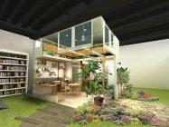 パナソニックセンター大阪 住空間展示「サンルームのある家」(イメージ)