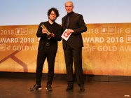 「iFデザインアワード2018」表彰式の様子(1)~パナソニックが金賞2件受賞