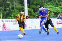 ブラインドサッカー イメージ(写真提供:日本ブラインドサッカー協会)