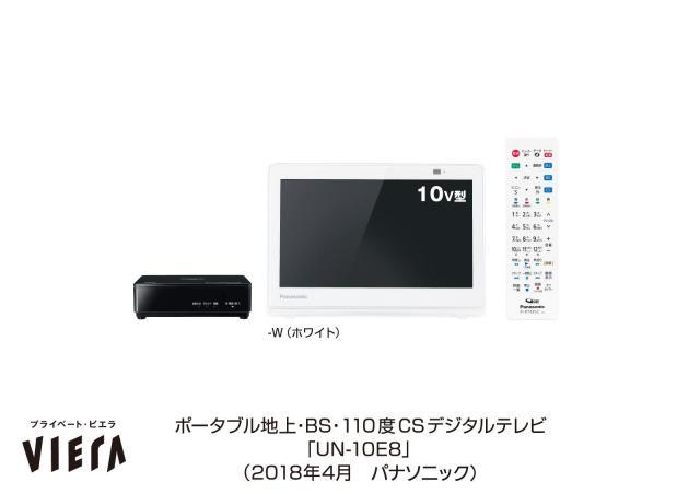 ポータブルテレビ「プライベート・ビエラ」UN-10E8を発売