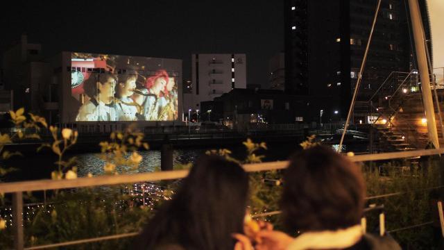 パナソニックが東京・天王洲運河エリアの賑わいを創出~プロジェクションマッピングや3Dフォトスキャナーによる次世代映像体験を提供