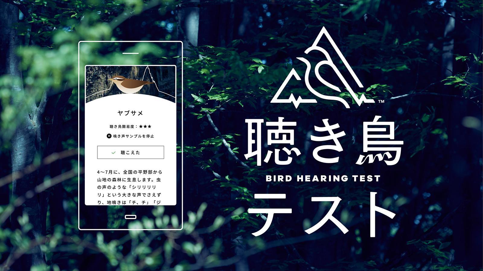 """""""聴きとる力""""が確認できるWEBサービス「聴き鳥テスト」を公開"""