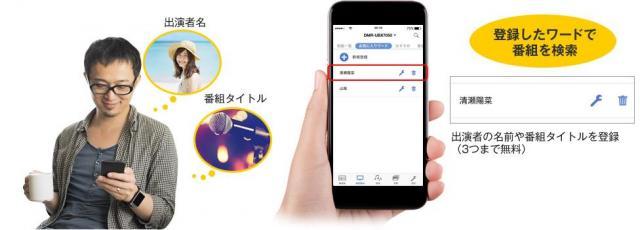 スマートフォンアプリ「どこでもディーガ」Ver.2.0配信開始で、さらに便利に