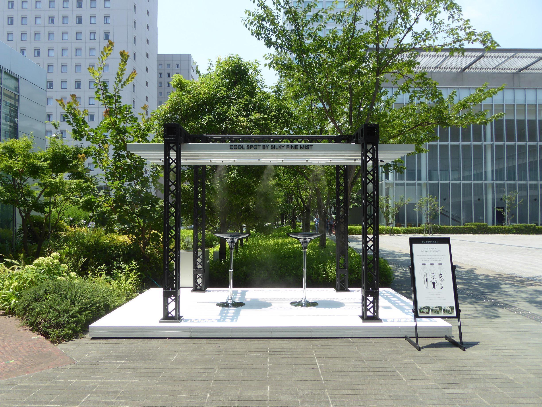パナソニックセンター東京での屋外設置