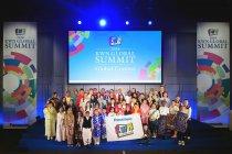 「KWNグローバルコンテスト2018」には、世界16の国と地域から54名の子どもたちが参加
