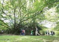 パナソニック AP社 草津拠点構内にある「共存の森」(1)