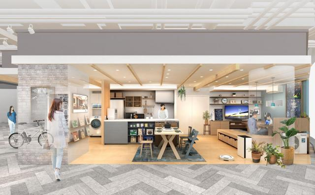 【パナソニックセンター大阪】住空間展示「家族の時間と笑顔がひろがるLDK」をオープン~子育て世代の住まいと暮らしを提案