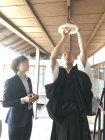 LED電球への交換シーン(清水寺・成就院)(1)