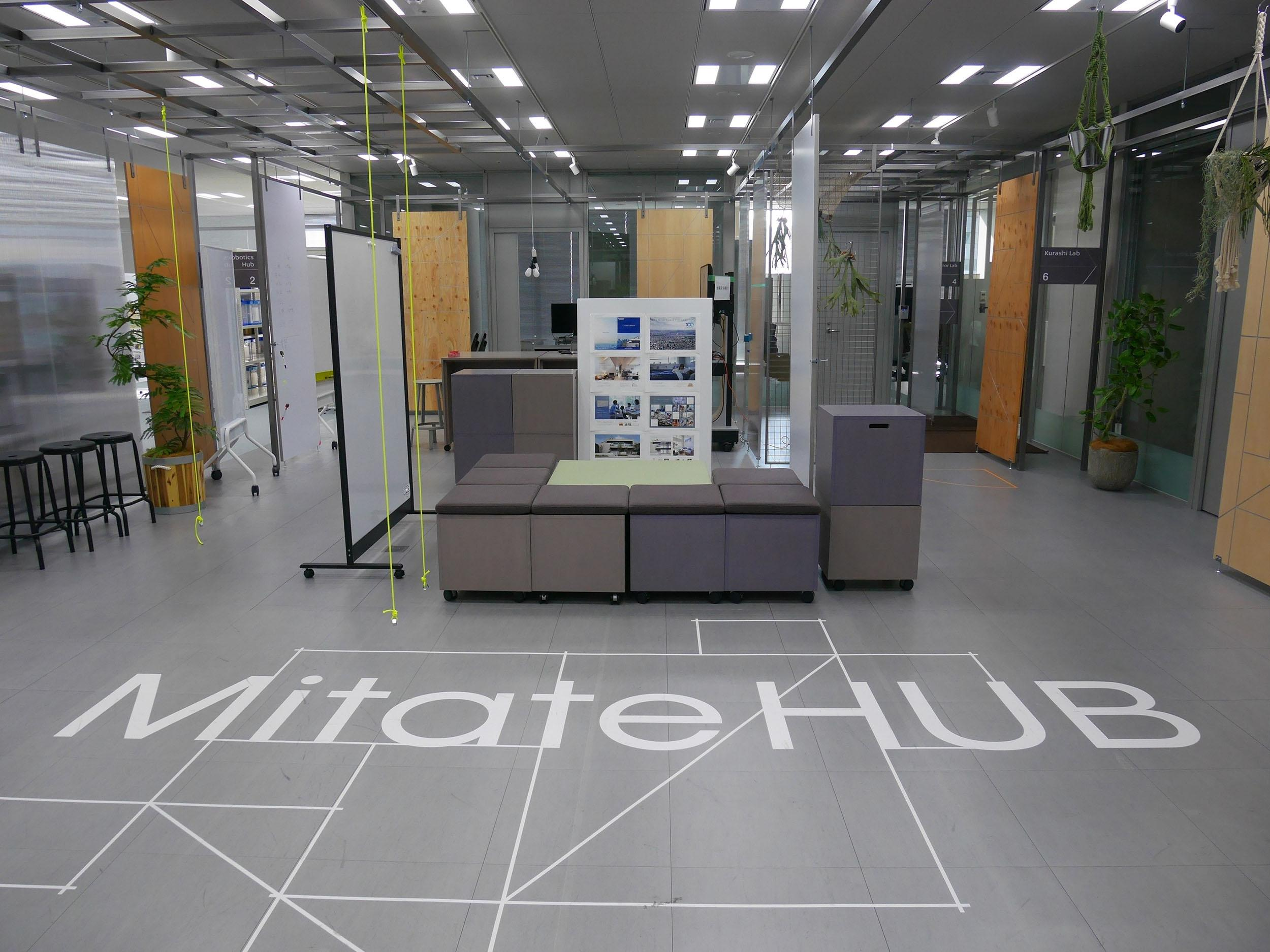 Mitate HUB(5階 工房エリア)