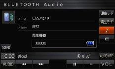 「BLUETOOTH(R) Audio」イメージ / 「ストラーダ」CN-E310D