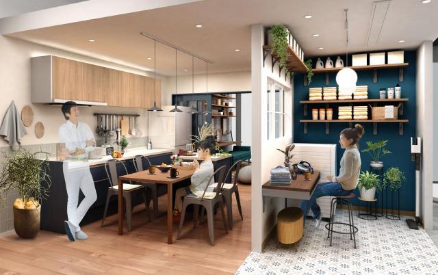 【パナソニックセンター大阪】住空間展示「家族の居心地をリノベーション」をオープン~パナソニックWEB動画の空間を再現