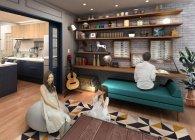 【パナソニックセンター大阪】住空間展示「家族の居心地をリノベーション」(イメージ)(2)