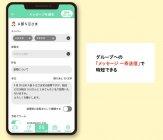 メッセージの一斉送信が可能(ケアモ連絡帳)