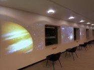 プロムナード:宇宙をイメージ(太平洋フェリー 新造船ニュー「きたかみ」)