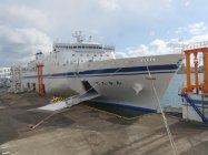 太平洋フェリー 新造船ニュー「きたかみ」外観