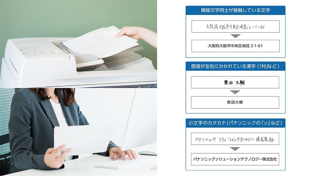 パナソニックが「帳票認識ライブラリー AI手書き文字認識オプション」を提供