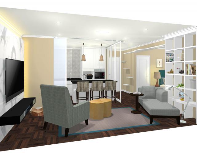 【パナソニックセンター大阪】住空間展示「オトナのひとり住まい」をオープン~大人女子のためのマンションリフォームを提案
