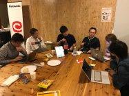 アイディア創出に向けてパナソニック社員と学生が交流するワークショップの様子
