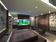パナソニックセンター大阪 住空間展示「至福の空間、アクアリウムベッドルーム」(イメージ)