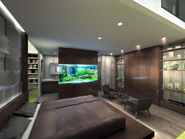 【パナソニックセンター大阪】住空間展示「至福の空間、アクアリウムベッドルーム」「Make Your Room -部屋作りを、遊ぼう-」をオープン