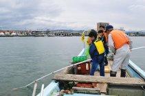 瀬田シジミ掻き漁