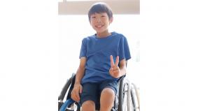 橘龍平さん(パラアスリート、車いすテニス)