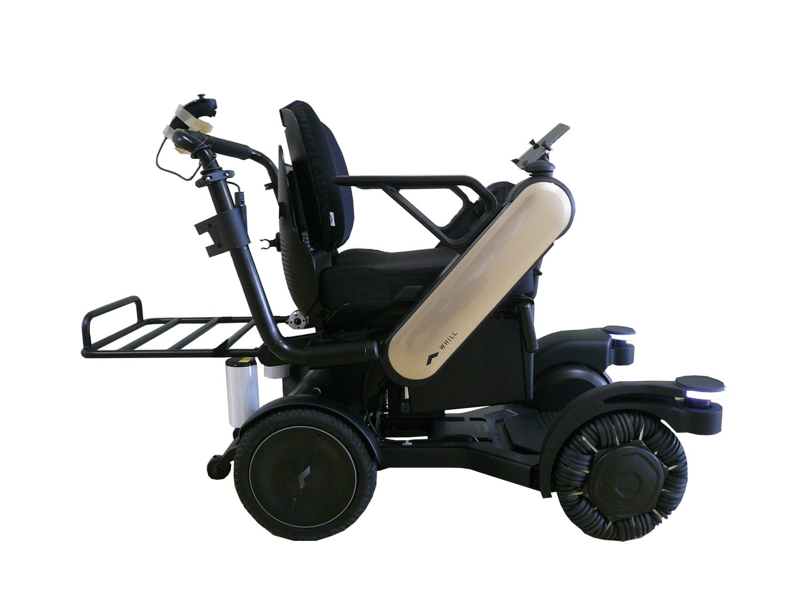 パーソナルモビリティ(自動追従電動車椅子)