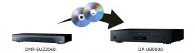 ブルーレイディスクプレーヤー「DP-UB9000」ディスク再生イメージ