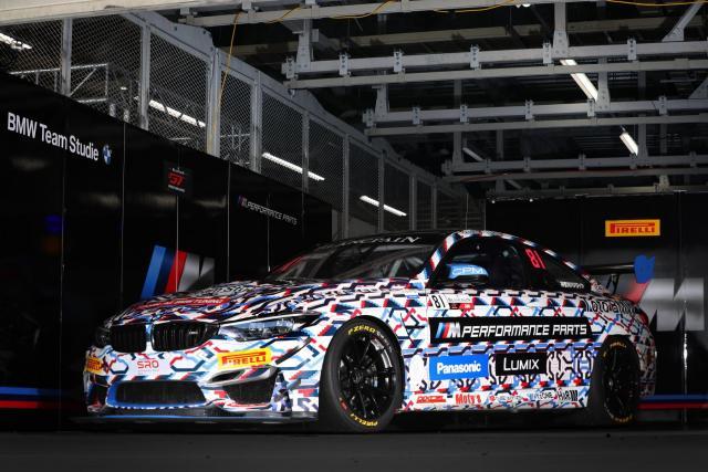 LUMIXがモータースポーツ「Blancpain GT World Challenge Asia」に参戦する「BMW Team Studie」に協賛