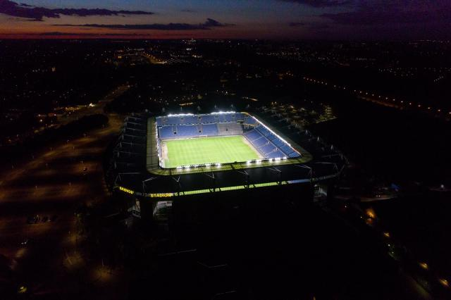 デンマークのサッカースタジアムに顔認証システム「FacePRO」を納入