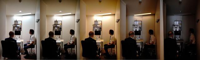 パナソニックの「調光・調色」照明技術がメガネスーパーの視力検査照明システムに採用