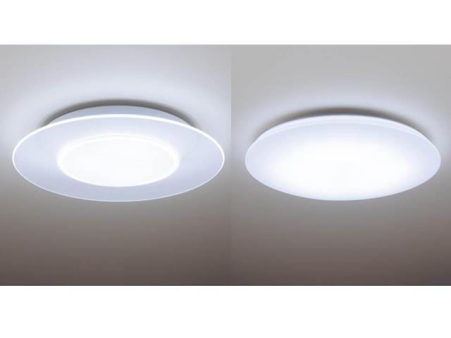 薄型デザインで、空間をすっきり、開放的に見せるLEDシーリングライトを発売