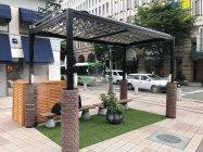 兵庫県神戸市とのグリーンエアコンFlexを用いた実証実験(三宮地区)