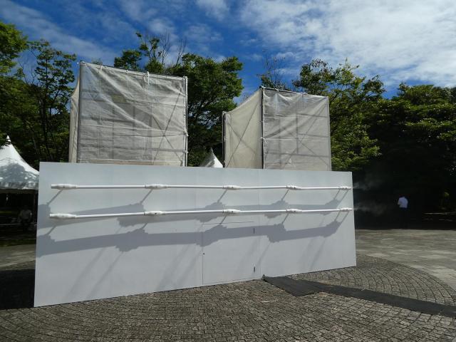 暑さ対策として東京都内で今夏開催される4つの競技会場周辺に「グリーンエアコンFlex」を設置