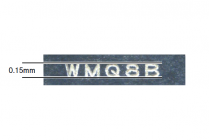 【図2】極小文字印字について