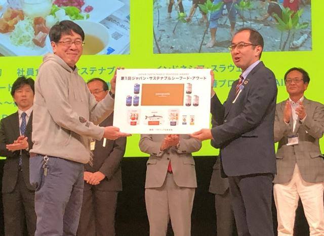 社員食堂へのサステナブル・シーフード継続導入プロジェクトが「ジャパン・サステナブルシーフード・アワード」でチャンピオンに選定