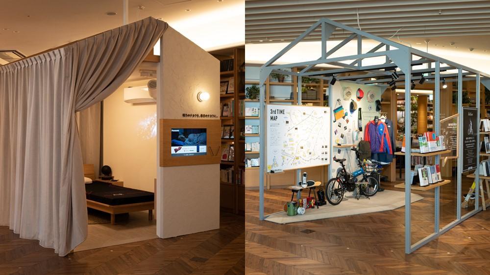 2つの新たなライフスタイル提案。左:眠りのチカラを、毎日のチカラに。右:脳と心を、解き放とう。