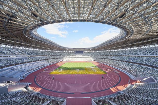 新しく生まれ変わった国立競技場で開催されるオープニングイベントにブース出展