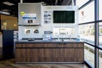 【パナソニック リビング ショウルーム 岡崎】キッチンのラクテク体感コーナー