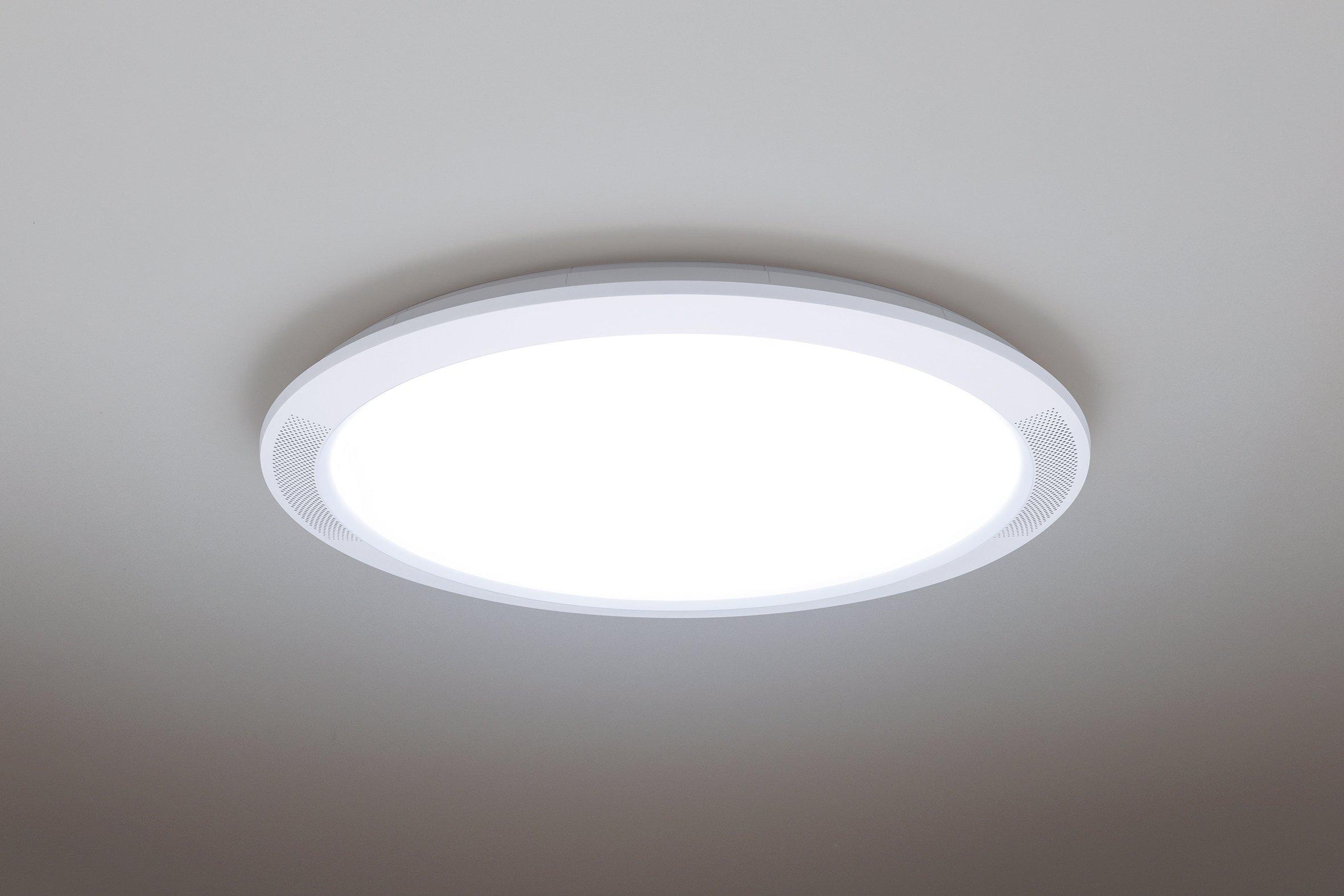 スピーカー搭載LEDシーリングライトのスタンダード(薄型)タイプ「THE SOUND」